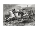 Rebel Leader Father Clinch Being Shot at the Battle of Vinegar Hill, Enniscorthy, County Wexford,… Giclee Print by Henry Warren