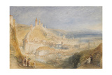 Lucerne from the Walls, 1842 Giclee Print by J. M. W. Turner