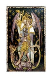 St Michael the Archangel, Detail of the Rood Screen, St Helen's Church, Ranworth, Norfolk, Uk Giclee Print