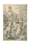 Christ Carrying the Cross Giclee Print by Hendrik Goltzius