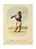 A Soldier of Mohamad Ali Pasha's Army, 1835 Giclee Print by Rupert Kirk
