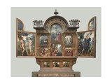 Altarpiece with Scenes from the Old and New Testaments (The Tendila Retablo) Giclee Print by Jan and Katharina van Hemessen
