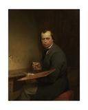 Self Portrait, 1854 Giclee Print by Ferdinand De Braekeleer