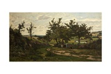 Paysage, 1886 Giclee Print by Henri-Joseph Harpignies