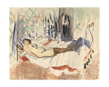 Woman Resting Giclee Print by Rik Wouters
