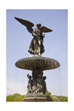 Angel of the Waters at the Bethesda Terrace in the Mid Park Quadrant in Central Park Giclee Print