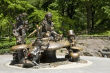 Alice in Wonderland Statue at Mid Park Quadrant in Central Park, New York Photographic Print
