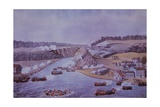 Battle of Queenston Heights Giclee Print