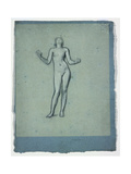 Study of a Nude Figure (Juggler) Giclee Print by Frederick Leighton