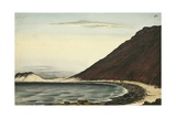 Hills of Lava, Abyssinian Coast, 1832 Giclee Print by Rupert Kirk