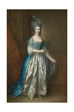 Portrait of Mrs. William Villebois Giclee Print by Thomas Gainsborough