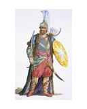 Chief of the Saphis, 1780 Giclee Print by Pierre Duflos