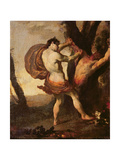 Apollo Flaying Marsyas, C.1627 Giclee Print by Johann Liss Or Lis Or Von Lys