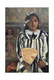 The Ancestors of Tehamana, 1893 Impression giclée par Paul Gauguin