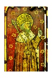 St Edward the Confessor, Detail of the Rood Screen, St Catherine's Church, Ludham, Norfolk, Uk Giclée-Druck
