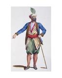 Aladin, Sultan of Achem, 1780 Giclee Print by Pierre Duflos
