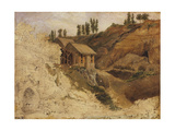 A Quarry, 1827 Giclee Print by Theodore Rousseau