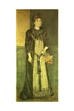 Portrait of Mathilde Blind, 1889 Giclee Print by Harold Steward Rathbone