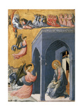 The Annunciation Giclée-tryk af Paolo Uccello