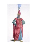 Boluch-Bassi, Officer of the Janissaries, 1780 Giclee Print by Pierre Duflos