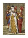 Sultan Ahmed III, C.1708 Giclée-Druck von Jean Baptiste Vanmour