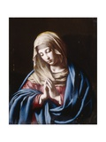 The Madonna in Prayer Giclee Print by  Giovanni Battista Salvi da Sassoferrato