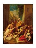 St. Peter Healing the Sick Giclee Print by Jean-Baptiste Jouvenet