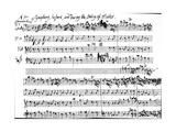 Original Score of the Beginning of the Symphony Accompaning the Entry of Alcides in Tobias… Giclee Print by George Frederick Handel