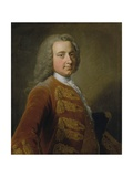 Portrait of a Man, Early 1740s Giclee Print by George Knapton