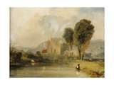 Valle Crucis Abbey, North Wales, 1834 Giclee Print by James Baker Pyne