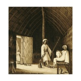 Loheia, Red Sea - Interior of House, 1832 Giclee Print by Rupert Kirk