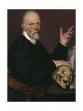 Portrait of the Doctor, Carlo Fontana Giclee Print by Bartolomeo Passarotti