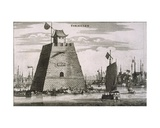 The Fort by the Port at Tientsin, 1665 Giclee Print by Jean Nieuhoff