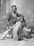 David Frances Barry - Curley, Crow Scout - Fotografik Baskı