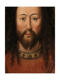 Portrait of Christ (Detail) Giclee Print by  Jan van Eyck