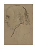 Sketch of John Flaxman, C.1810 Giclee Print by John Jackson