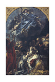 The Assumption of the Virgin, 1650-55 Giclee Print by Jacob Jordaens