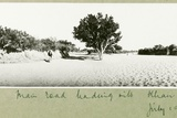The Main Road Leading into Khan Yunis, July 1917 Photographic Print by Capt. Arthur Rhodes