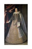 Grand Duchess Maria Maddalena D'Austria Giclee Print by Justus Sustermans