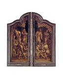 The Last Judgement and the Seven Works of Mercy, Closed Giclee Print by Bernard van Orley