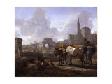 Classical Landscape Giclee Print by Willem Romeyn