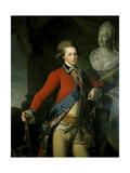 Portrait of Aide-De-Camp Alexander Lanskoy, 1782 Giclee Print by Dmitri Grigor'evich Levitsky