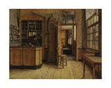 The Old Inn 'Het Loodshuis' in Antwerp Giclee Print by Henri De Braekeleer