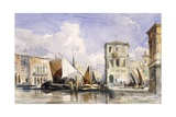 Venice Giclee Print by William James Muller