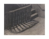 The Staircase Giclee Print by Xavier Mellery
