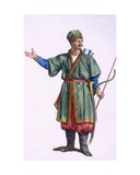 A Tatar of the Crimea, 1780 Giclee Print by Pierre Duflos
