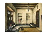 Jidda - Interior of House, 1832 Giclee Print by Rupert Kirk