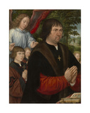 Portrait of Lieven Van Pottelsberghe, 1524 Giclee Print by Gerard Horenbout