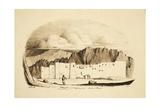 Monastery of St Katherina, Mount Sinai, 1835 Giclee Print by Rupert Kirk
