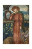 The Lady of Shalott Giclee Print by Dante Gabriel Rossetti